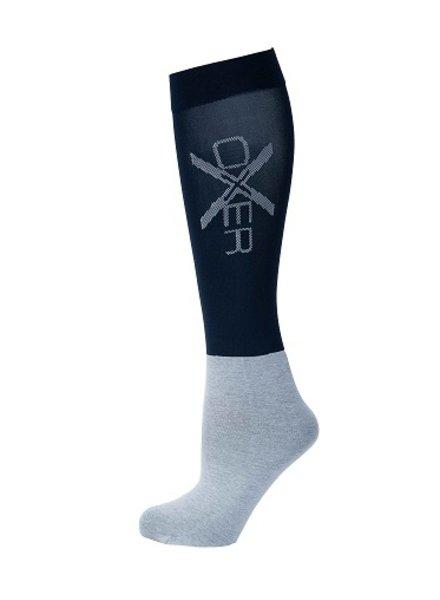 Oxer Socks Slim Foot Navy