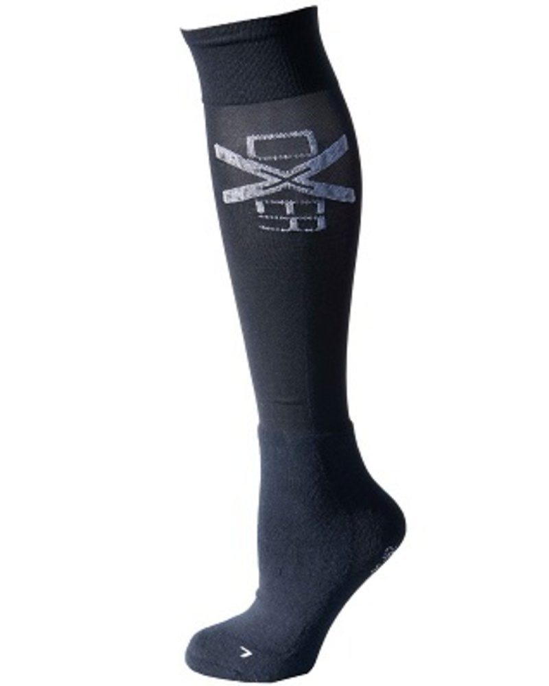 Oxer Oxer Socks Cushion Foot Navy
