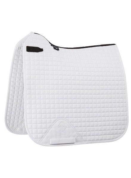 Le Mieux Zadeldek LMX Prosport Plain CC Squares Cotton Wit