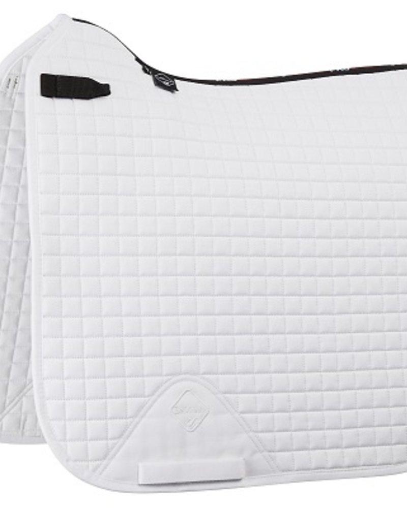 Le Mieux Le Mieux Zadeldek LMX Prosport Plain CC Squares Cotton Wit
