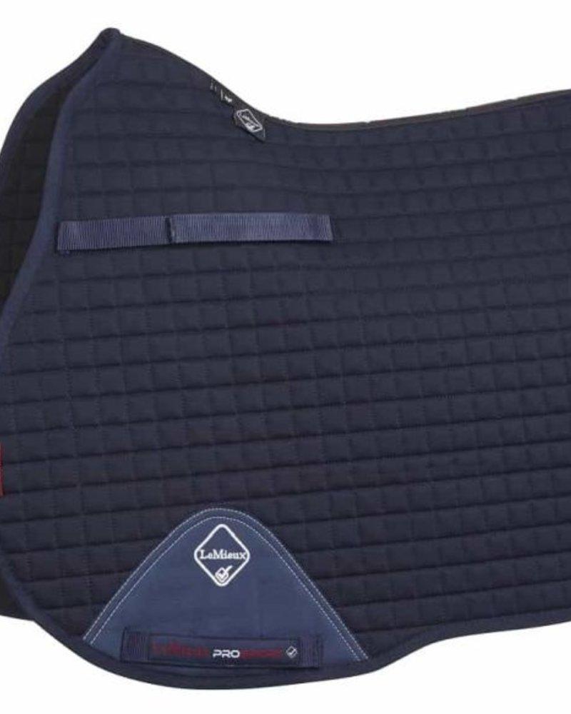 Le Mieux Le Mieux Saddle Pad LMX Prosport Plain CC Squares Cotton Navy