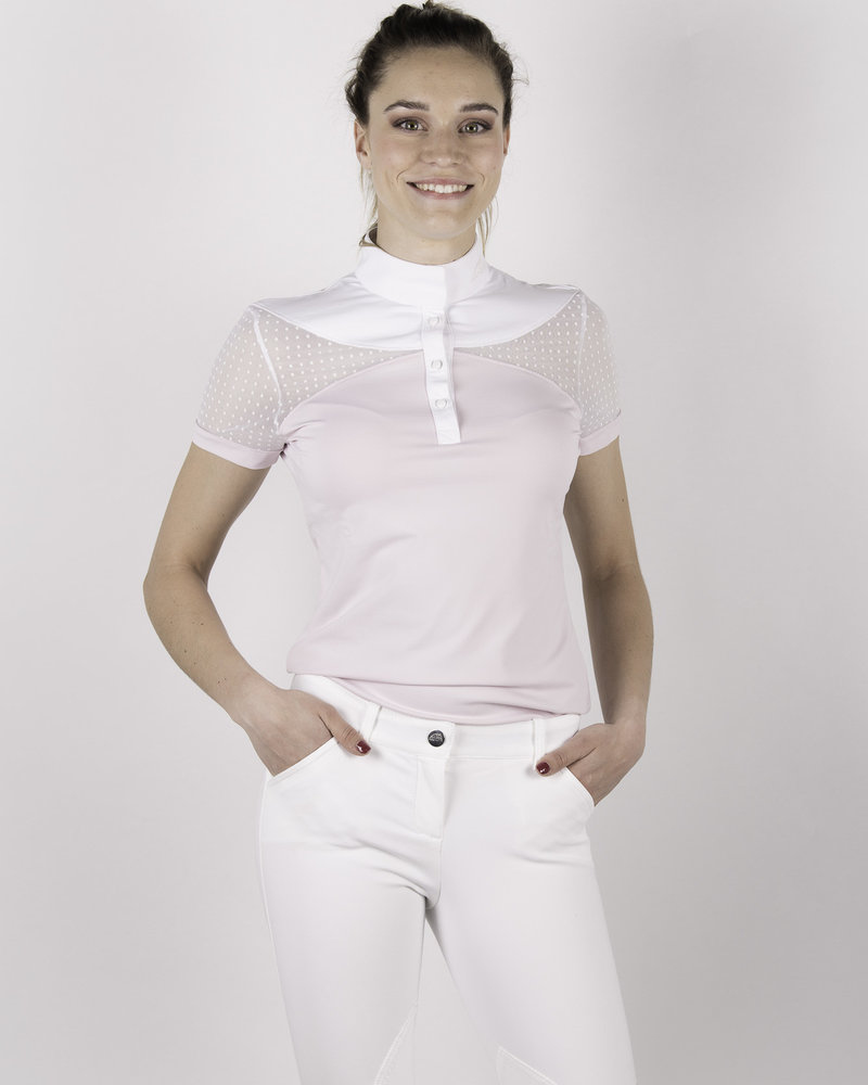 Equiline Equiline Women's Competition Polo S/S Orchid Ice