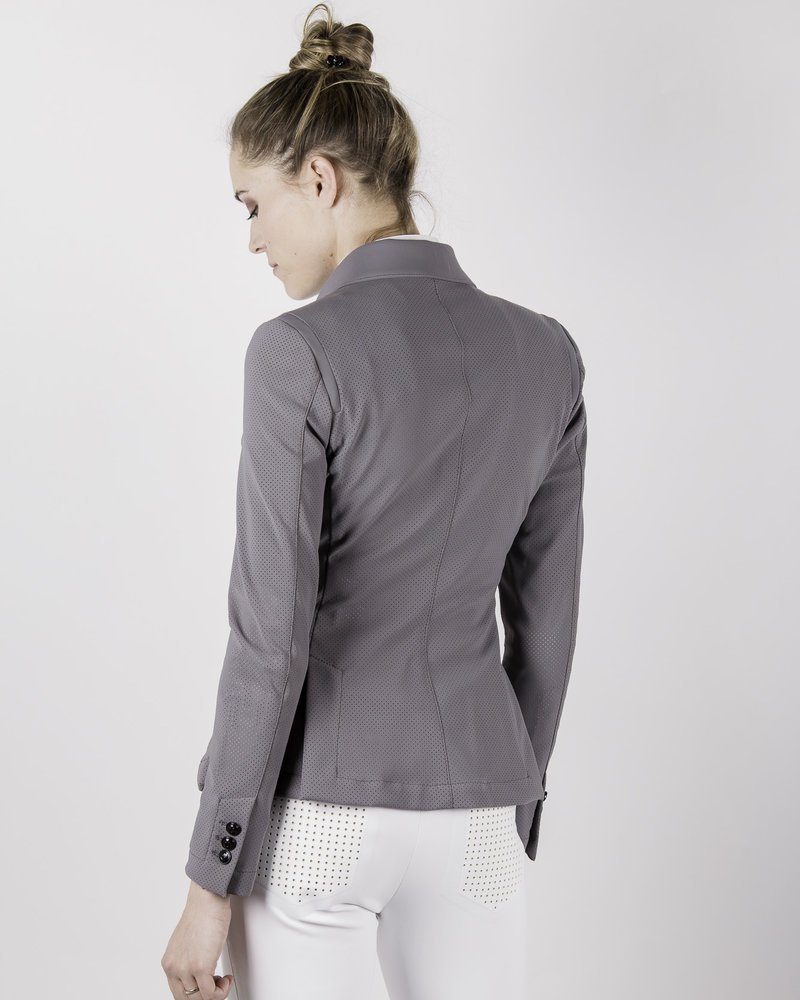 Cavalleria Toscana CT All-Over Perforated Competition Jacket Grey