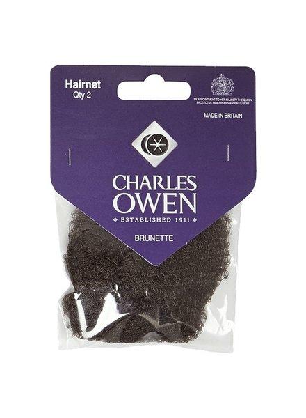 Charles Owen Hairnet Brunette 2pcs.