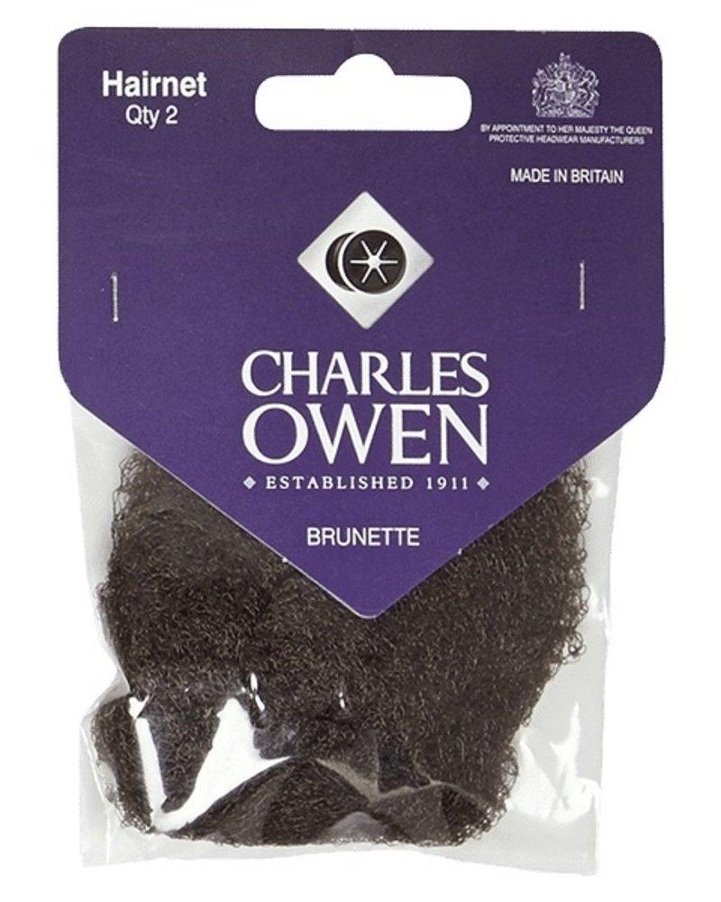 Charles Owen Charles Owen Hairnet Brunette 2pcs.