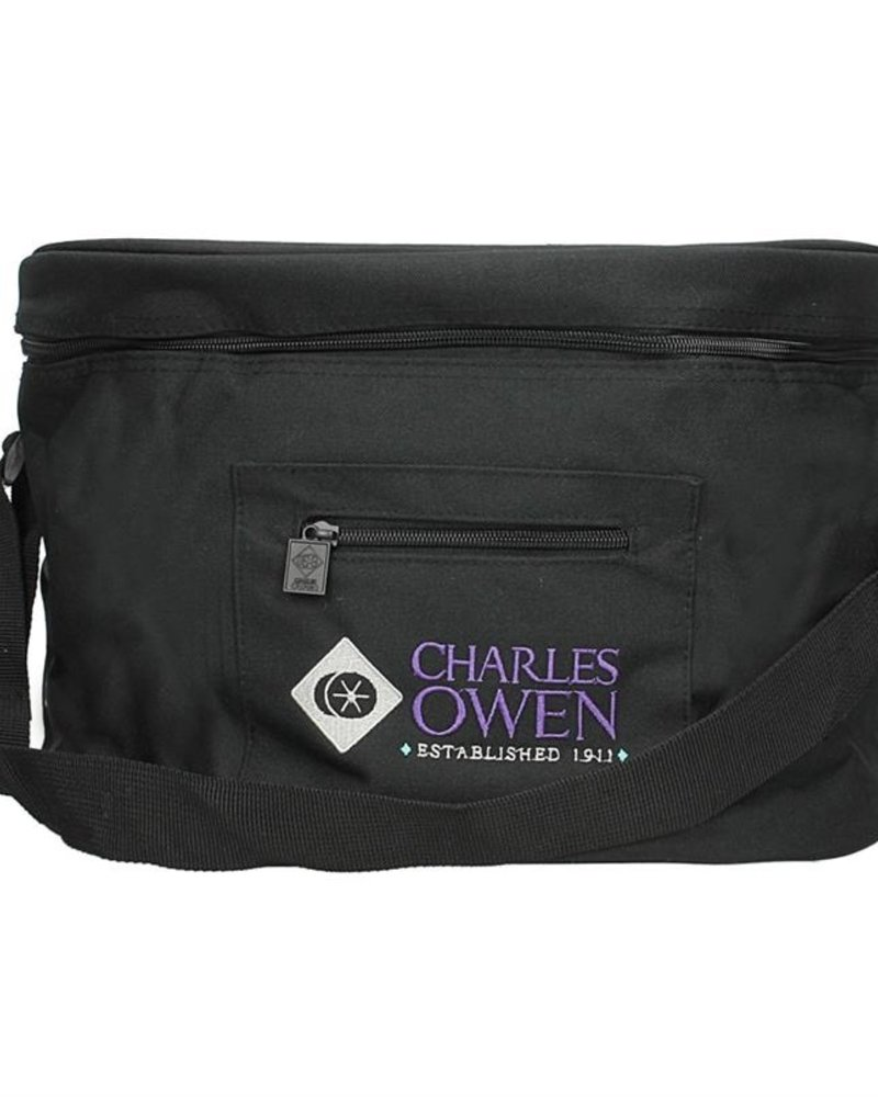 Charles Owen Charles Owen Had Bag 100% Denier Nylon Black