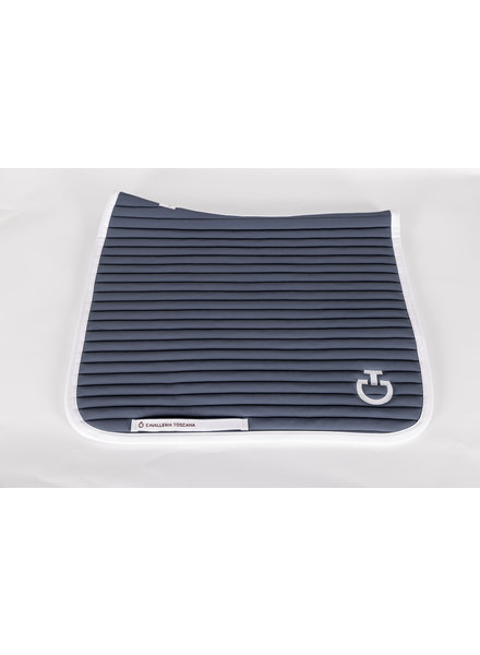 Cavalleria Toscana Quilted Row Jersery Saddle Pad Ocean