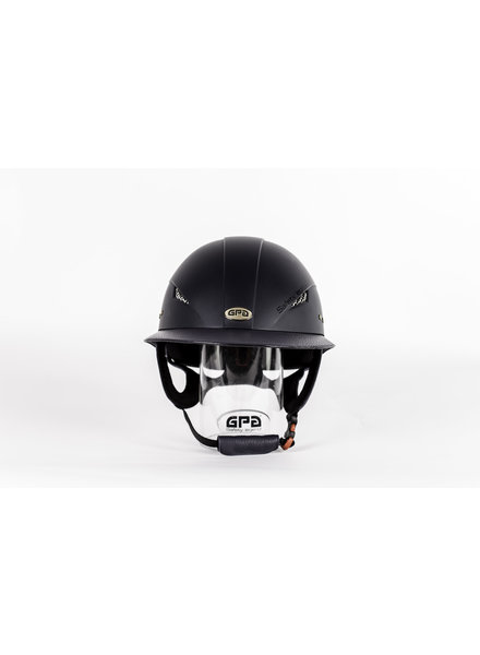 GPA Little Lady Mat Leather Visor Navy
