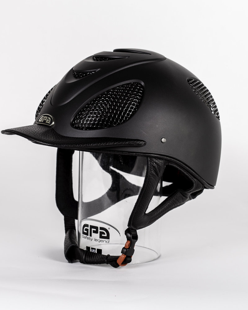 GPA GPA Speed Air Leather Black