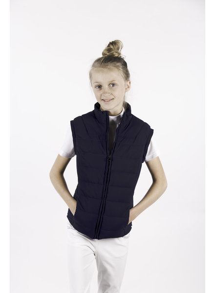 Cavalleria Toscana Quilted Jersey Vest Blue