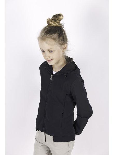 Cavalleria Toscana Jersey Nylon Hooded Jacket Navy