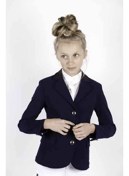 Cavalleria Toscana Girl Riding Jacket Navy