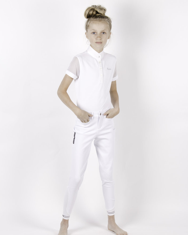 Equiline Equiline Girl's Polo Shirt S/S Greta