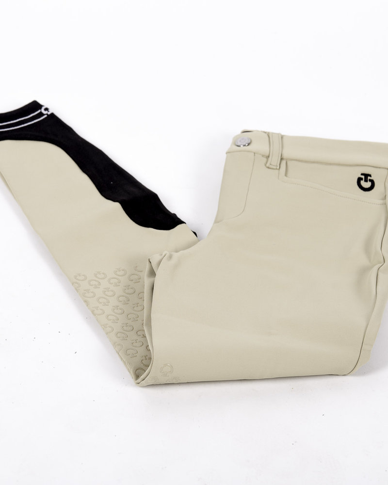 Cavalleria Toscana CT Piping Logo Grip Breeches Toffee