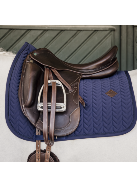Kentucky Zadeldek Fishbone Dressage Navy