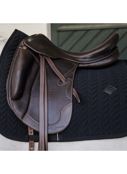 Kentucky Zadeldek Fishbone Dressage Black