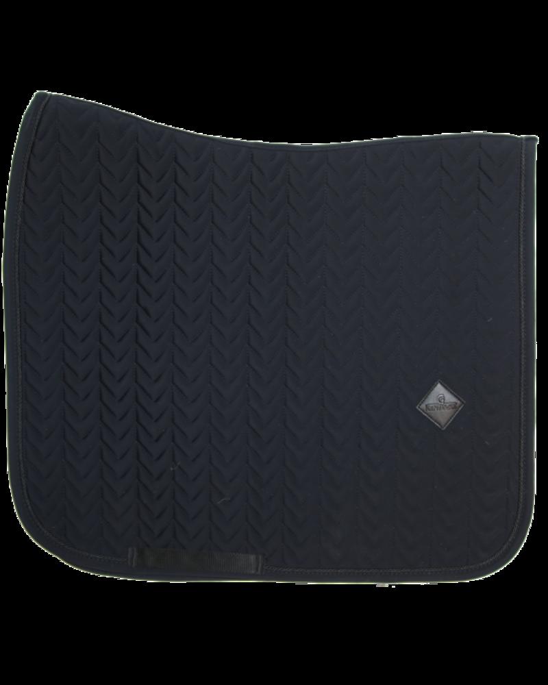 Kentucky Kentucky Saddle Pad Fishbone Dressage Black