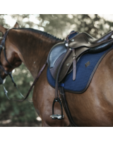 Kentucky Saddle Pad Color Edition Leather Navy