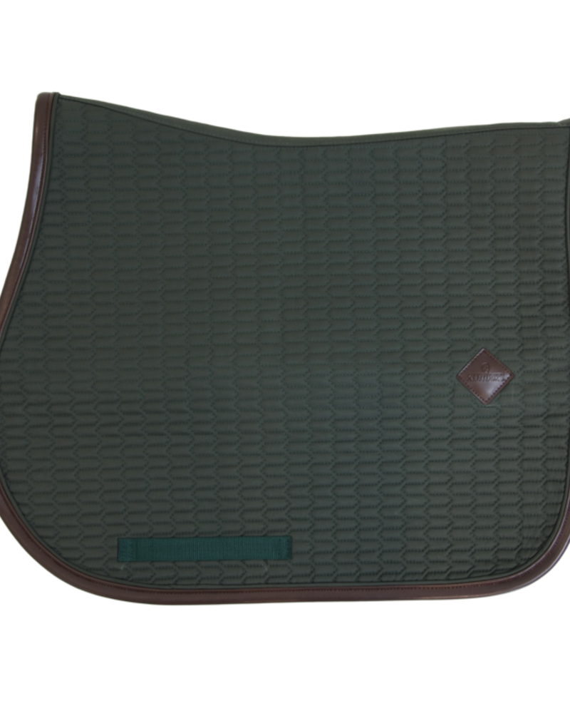 Kentucky Kentucky Saddle Pad Color Edition Leather Green