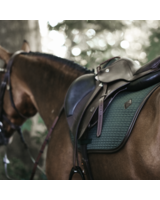 Kentucky Saddle Pad Color Edition Leather Green