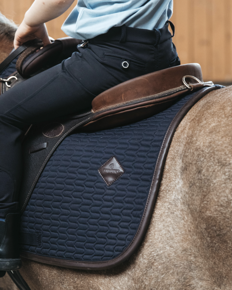 Kentucky Kentucky Saddle Pad Color Edition Leather Pony Navy