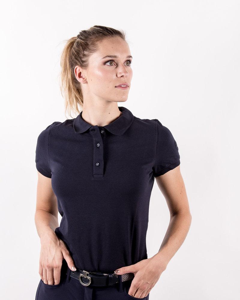 Eqode Eqode Women's Polo Shirt S/S Navy
