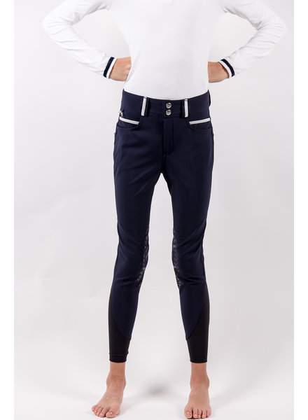 Pénélope Leprovost Kids Riding Breeches Fun Navy