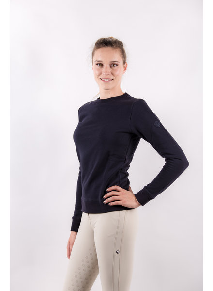 Eqode Women's Sweatshirt Navy