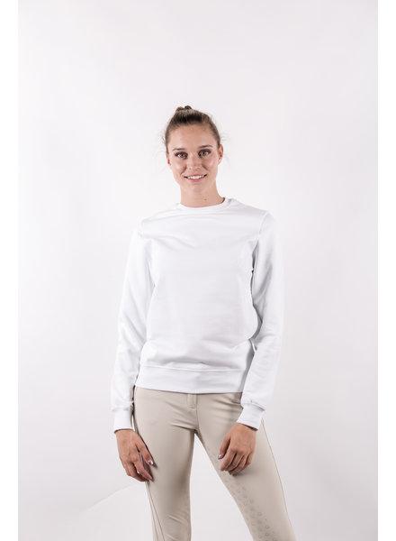 Cavalleria Toscana Adhesive Logo Sweatshirt White