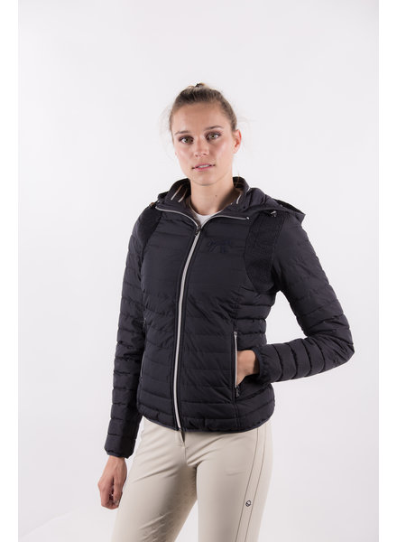 Pénélope Leprovost Padded Jacket Molly Navy Sparkle