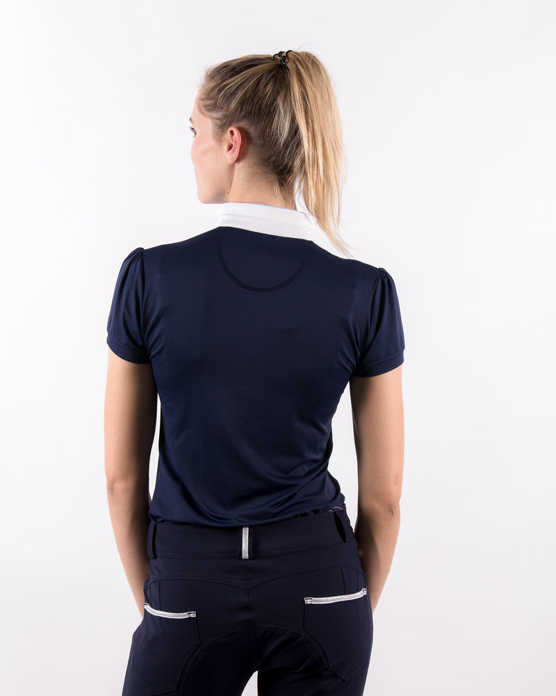 Pénélope Leprovost Penelope Ladies Polo Madrid S/S Navy