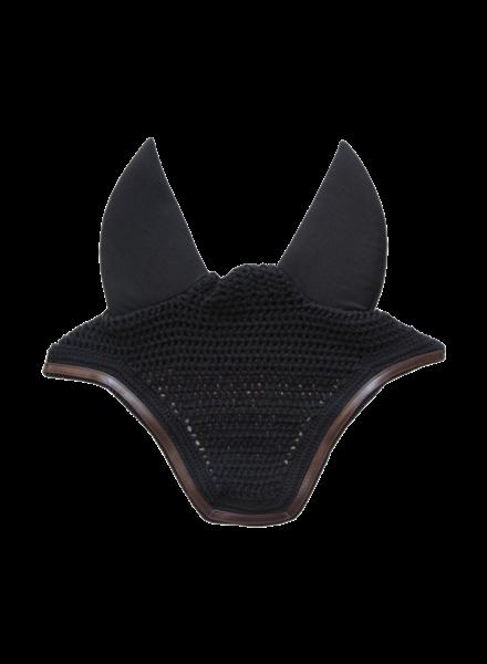 Kentucky Fly Veil Wellington Leather Soundless Black