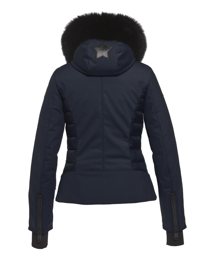 Goldbergh Goldbergh Kaja Jacket Faux Fox Fur Navy