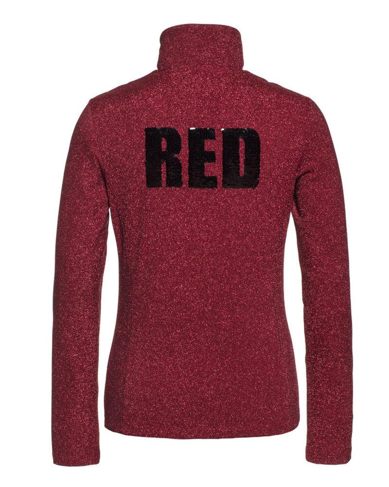 Goldbergh Goldbergh Sparkle Pully Ruby Red