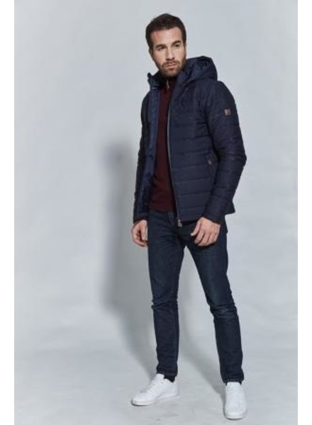 Harcour Billy Padded Jacket Navy