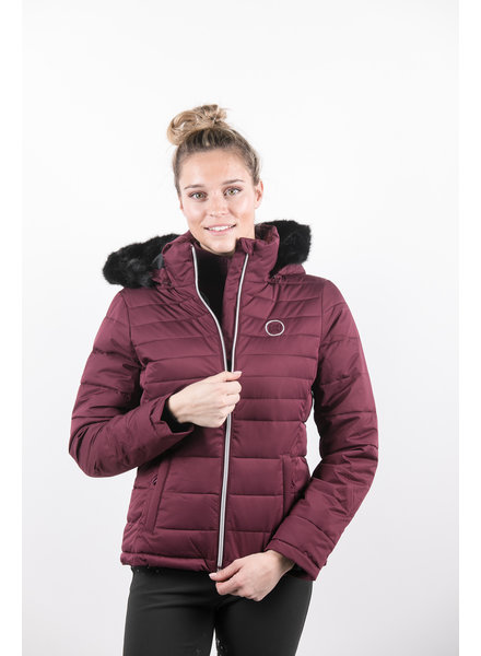 Harcour Margy Woman Padded Jacket Plum