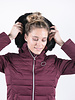 Harcour Harcour Margy Woman Padded Jacket Plum