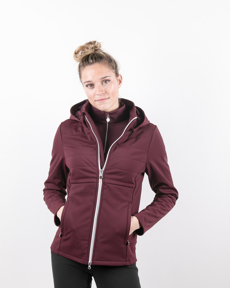 Harcour Harcour Laurens Woman Technical Jacket Plum