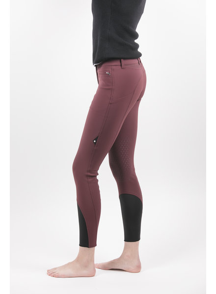 Equiline Women's Knee Grip Breeches Port Royale