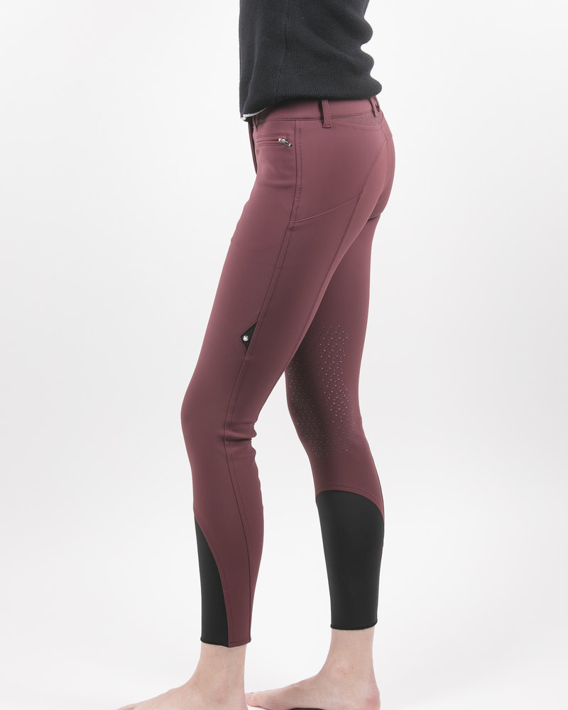 Equiline Equiline Women's Knee Grip Breeches Port Royale