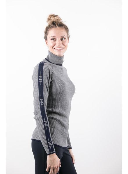 Alessandro Albanese Ladies Polo Neck Grey
