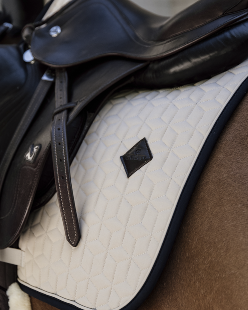 Kentucky Kentucky Saddle Pad Softshell Jumping Beige