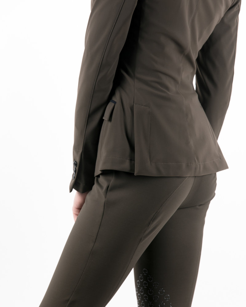 Cavalleria Toscana CT Riding Jacket Micro Print Lining Army Green 5A00
