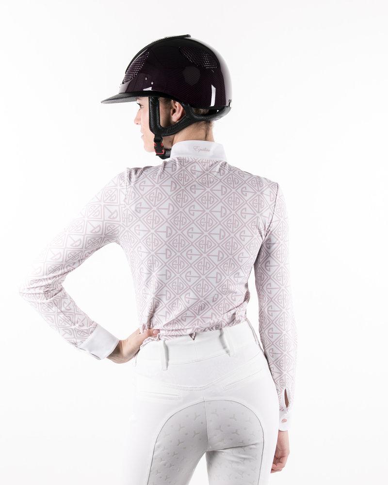 Equiline Equiline Women's Full Grip Breeches Degrade White