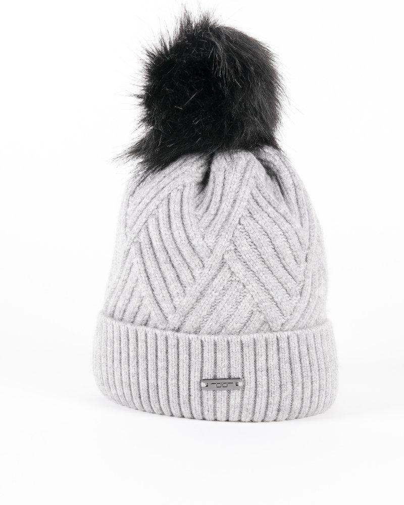 Alessandro Albanese AA Wool Pom-Pom Hat Grey