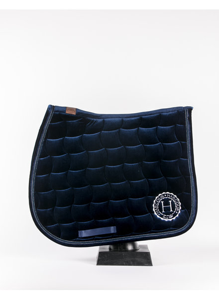 Harcour Joe Saddle Pad Velvet Navy