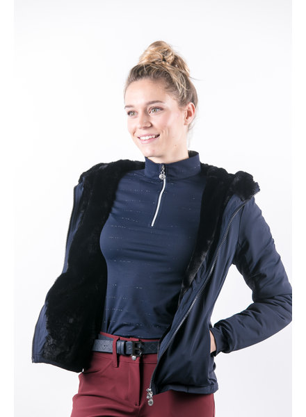 Harcour Sim Woman Jacket Navy