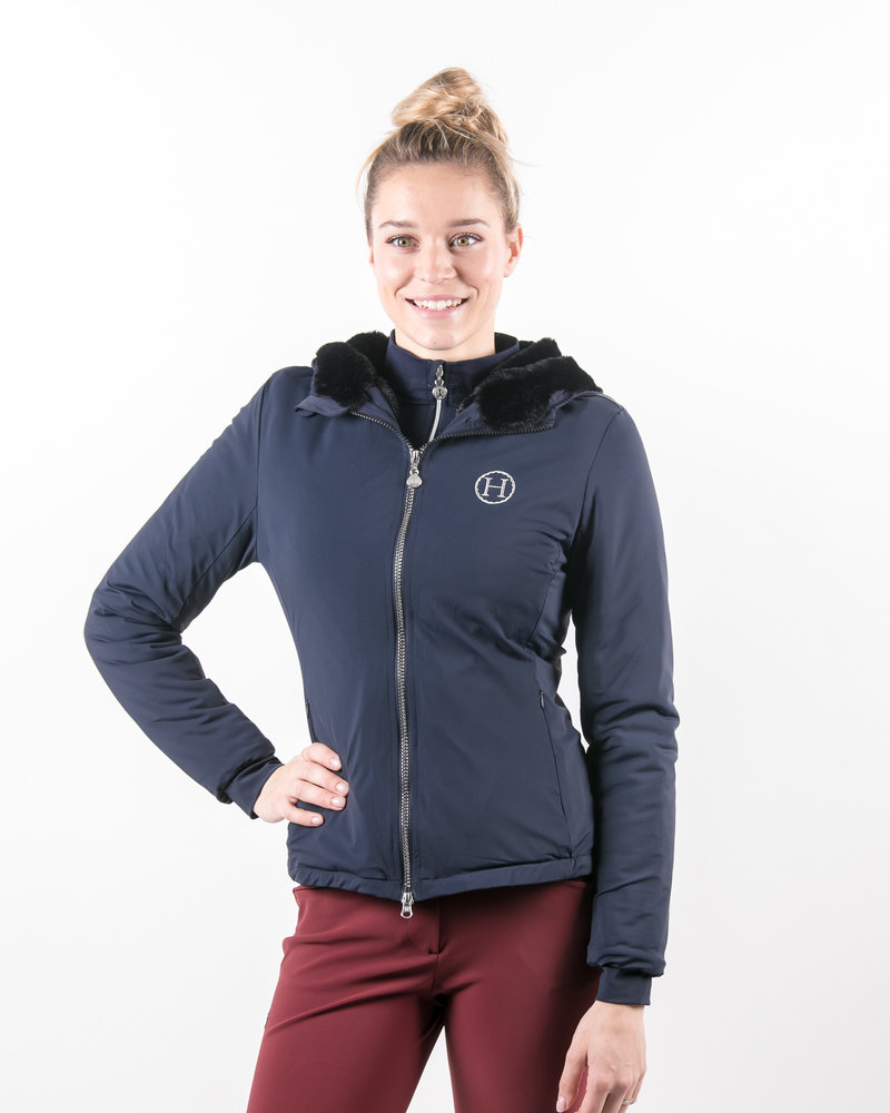 Harcour Harcour Sim Woman Jacket Navy
