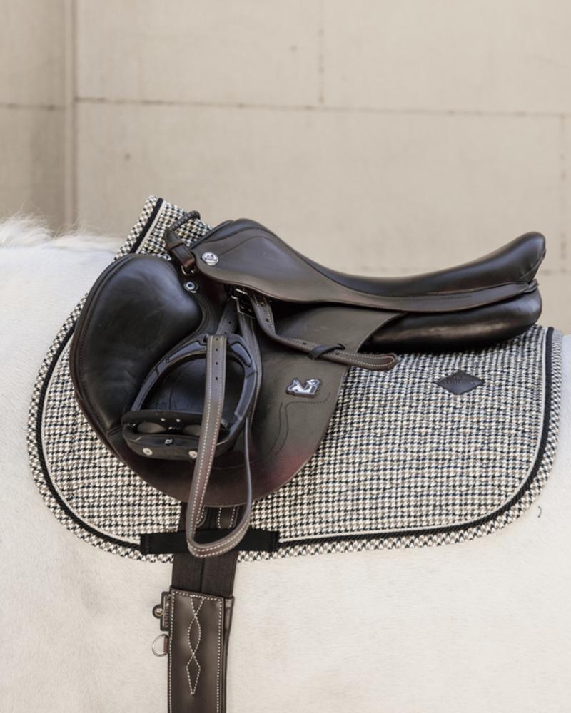 Kentucky Kentucky Saddle Pad Pied-De-Poule Brown Jumping