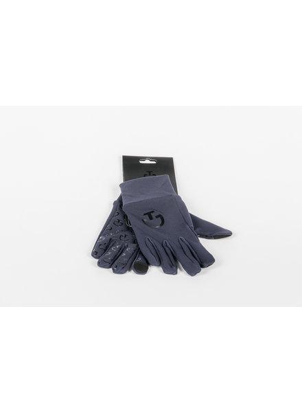 Cavalleria Toscana Winter Gloves Navy